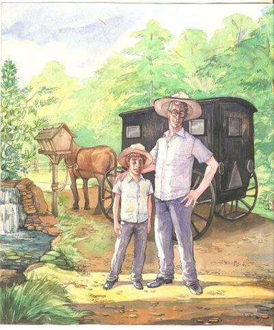 Famous children book illustrator