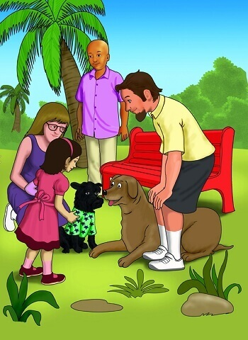 Local children book illustrator